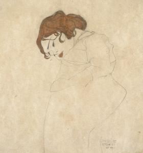 Troubles du sommeil - La jeune fille endormie, Egone Schiele