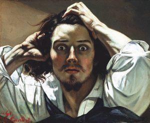 Gustave Courbet - Le Désespéré - angoisse